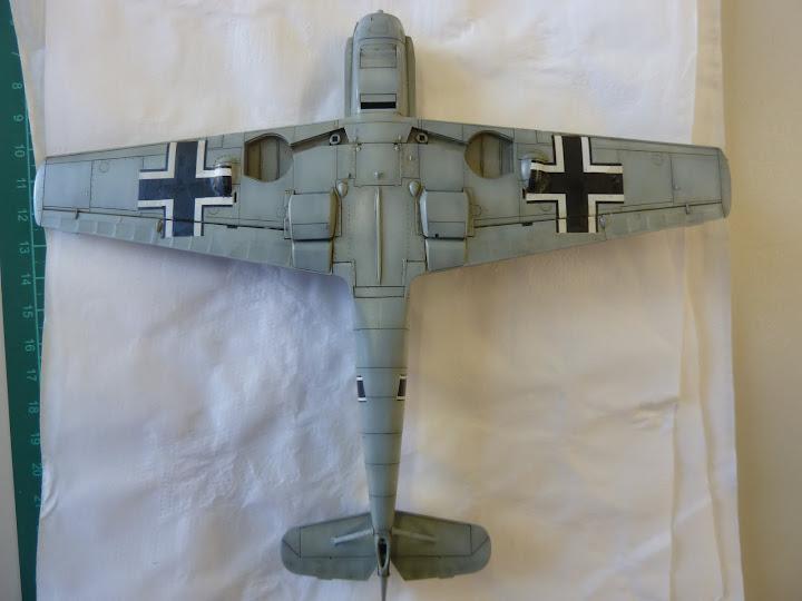 Bf-109 E-3 Tamiya 1/48 - Reforma pintura P1020521
