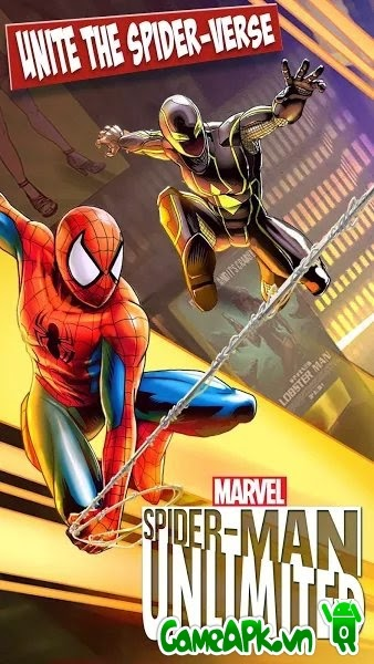 Spider-Man Unlimited v1.4.0j hack full cho Android