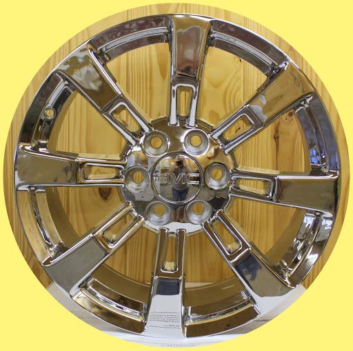 Chrome Escalade Wheels for GMC Sierra Denali Yukon 20 in Rims