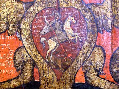 Икона «Литургия Господня», фрагмент