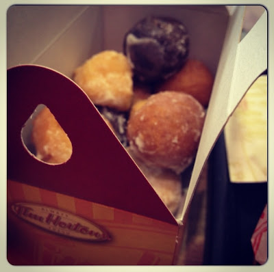 Timbits at tim Hortons Dubai