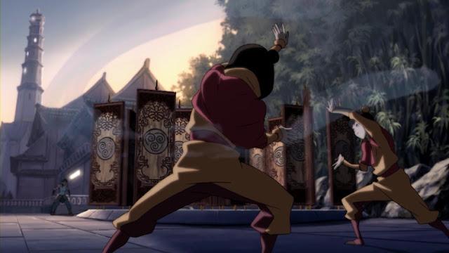 korra aire control hijas de tenzin Avatar Korra