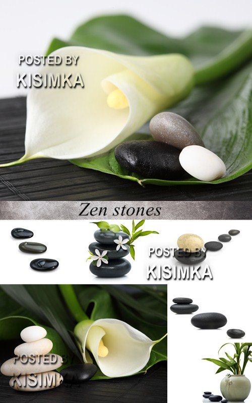Stock Photo: Zen stones