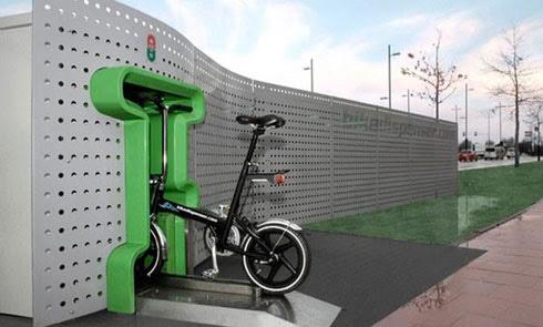 Автомат з прокату велосипедів