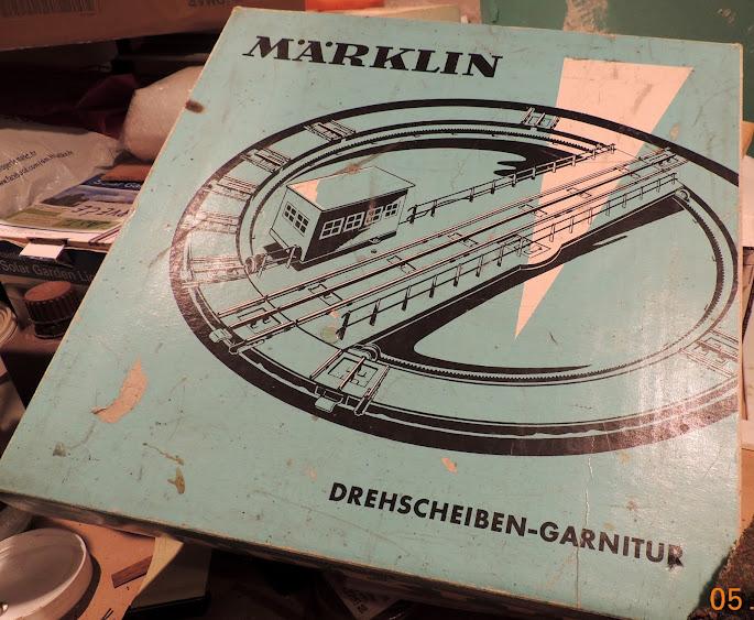 Stara Maerklin okretaljka DSCN4653