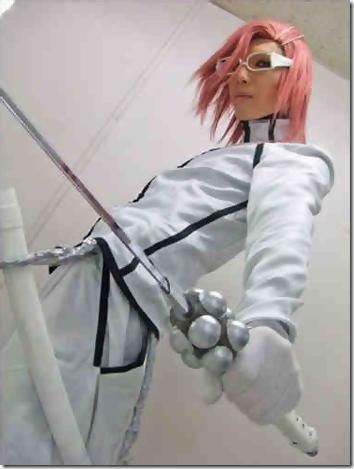 bleach cosplay - szayelaporro grantz