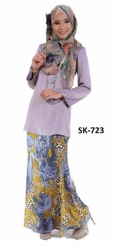 Baju Kurung Malaysia Moden Princess Cut