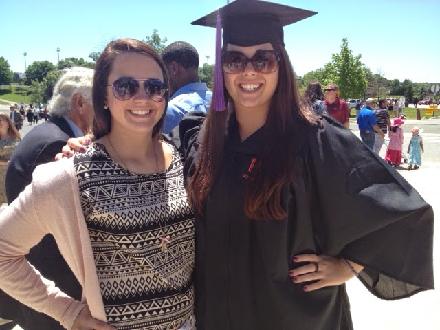 Rosalie and Nicki - at my college graduation
