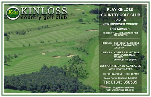 Camping  at Kinloss Country Golf Club