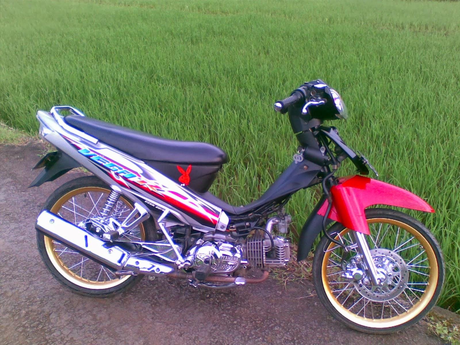 Motor Vega Modifikasi Trail