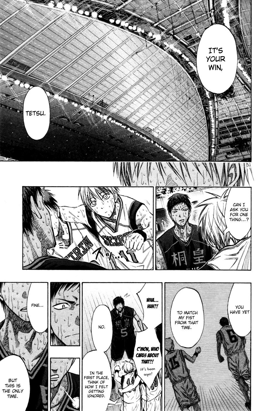 Kuroko no Basket Manga Chapter 139 - Image 13