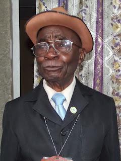 Katshak Wa Katew Florent- Arthur, ancien député alors commissaire du peuple.