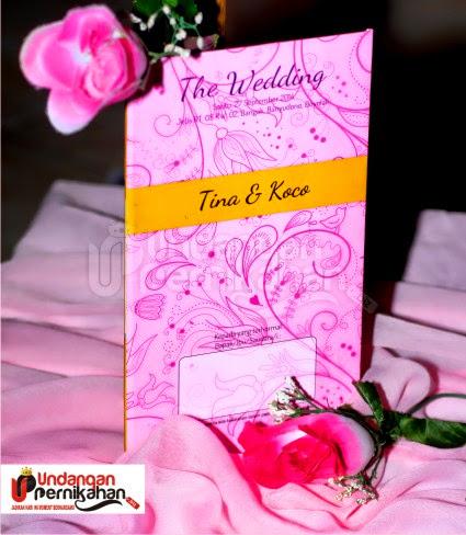 Undangan Pernikahan Tina & Koco