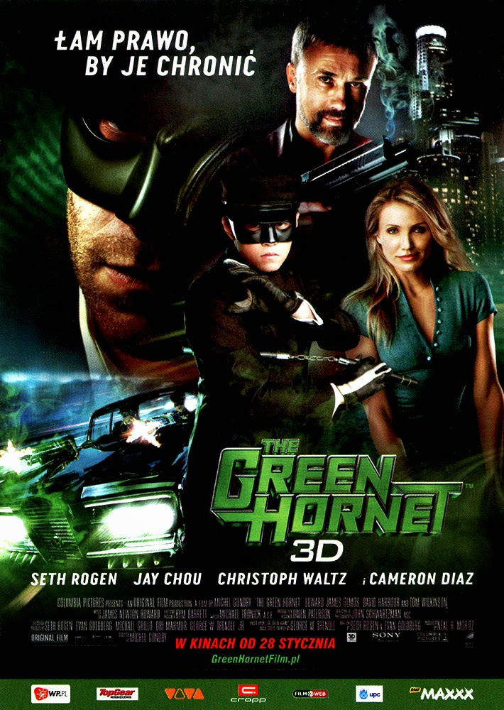 Ulotka filmu 'The Green Hornet (przód)'