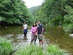 Third river crossing along Buckeye Trail