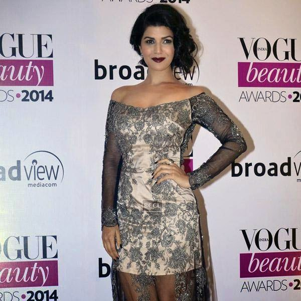 Nimrat Kaur at Vogue Beauty Awards 2014, held at Hotel Taj Lands End in Mumbai, on July 22, 2014.(Pic: Viral Bhayani)