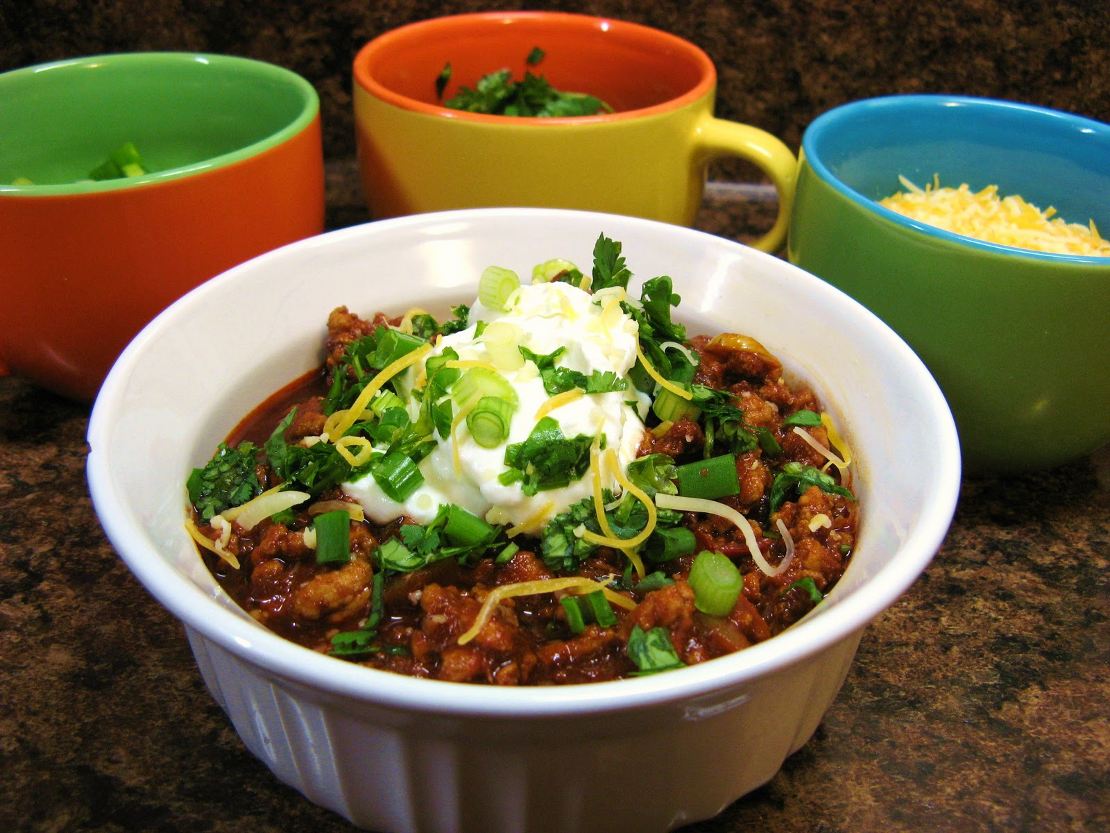 The Well-Fed NewlywedsAncho-Chipotle Turkey Chili
