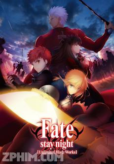 Đêm Định Mệnh: Vô Hạn Kiếm Giới - Fate/Stay Night: Unlimited Blade Works (2014) Poster