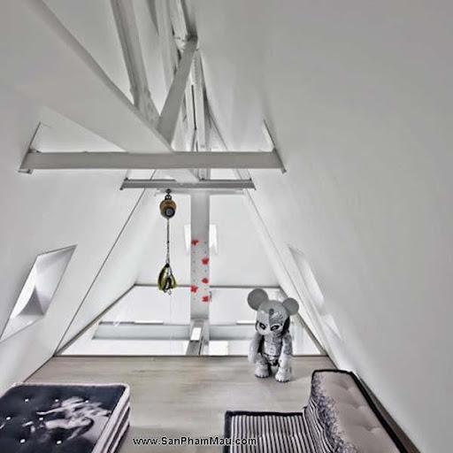 Khám phá căn hộ tươi sáng với cầu trượt thú vị cho trẻ nhỏ : Nội thấ căn hộ-10