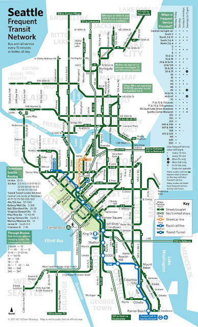 Seattle Transit Blog Frequent Transit Network