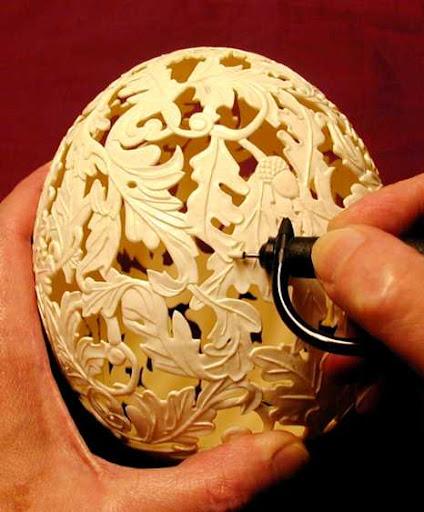 Karya Seni Dari Kulit Telur dan Pembuatannya