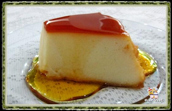 Pudim de padaria com queijo 6