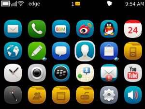 Beego Theme on 9900/9930 OS7 preview 4