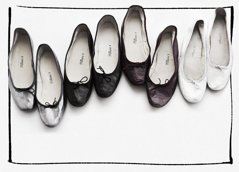 Porselli Ballet Flats