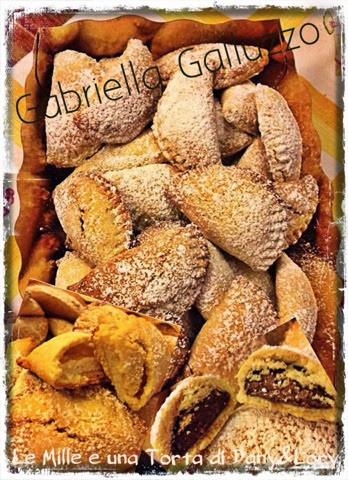 ravioli dolci alla ricotta e alla nutella