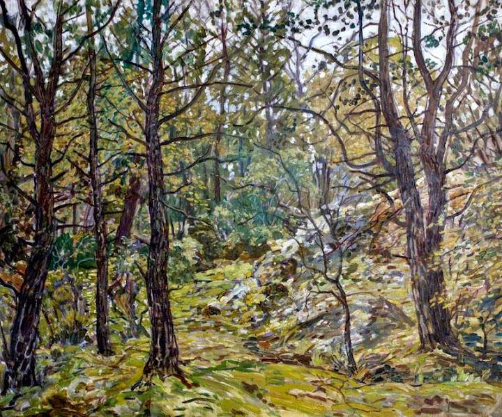Walter Elmer Schofield - Godolphin Woods