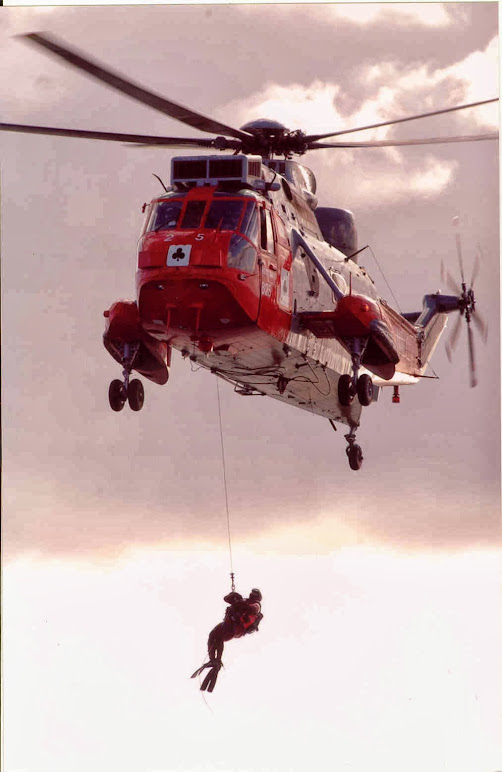 Sea King 771 Search and Rescue