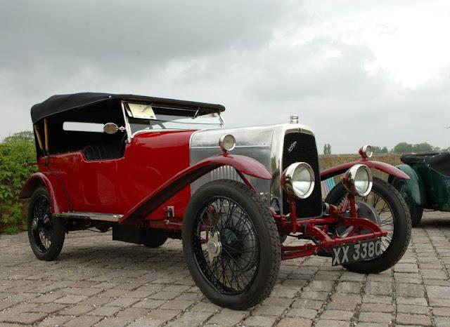 Aston Martin Side Valve, четырехместный вариант, 1922 г.