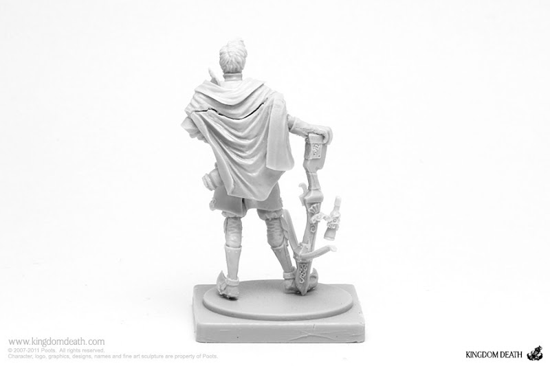 kingdom death character male great game hunter