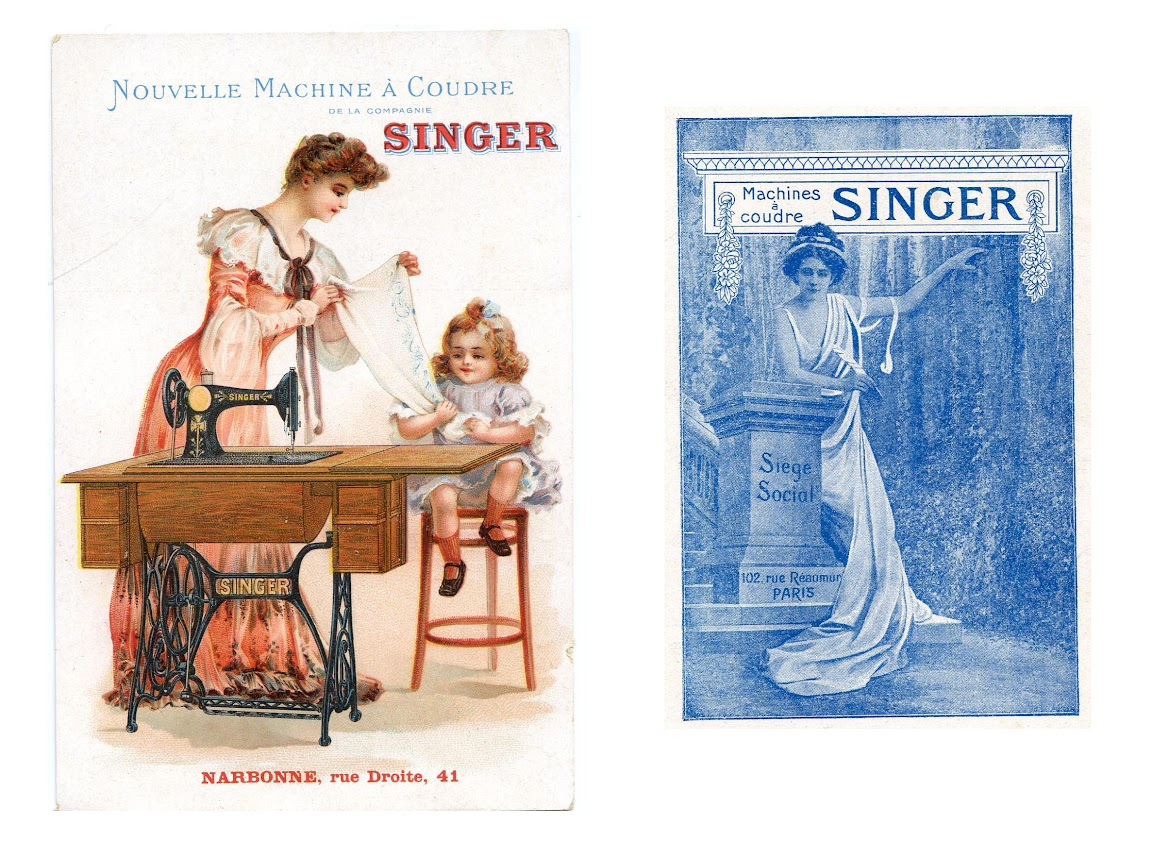 реклама на старинных открытках плане изменения внешнего