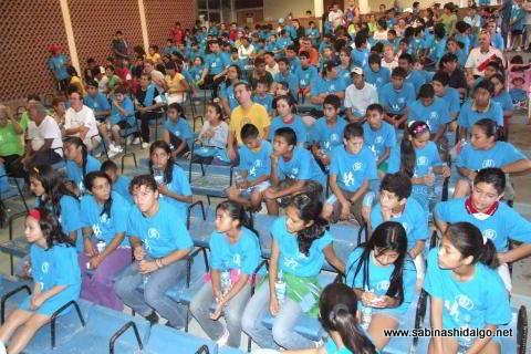 Participantes en la Carrera de la Salud