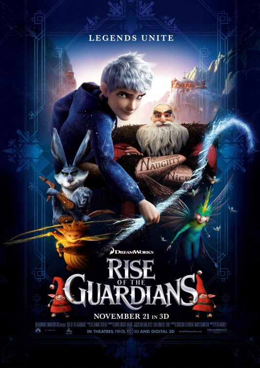Poster Of Rise of the Guardians (2012) Full Movie Hindi Dubbed Free Download Watch Online At Alldownloads4u.Com