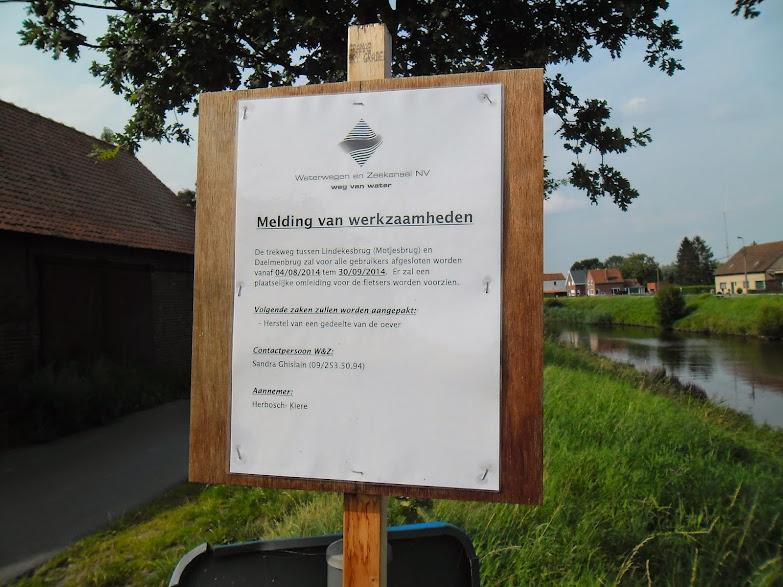 Schipdonkkanaal Deinze - Eeklo (Fietssnelweg F422) - Knokke (of Afleidingskanaal van de Leie) Schipdonkkanaal%2B011