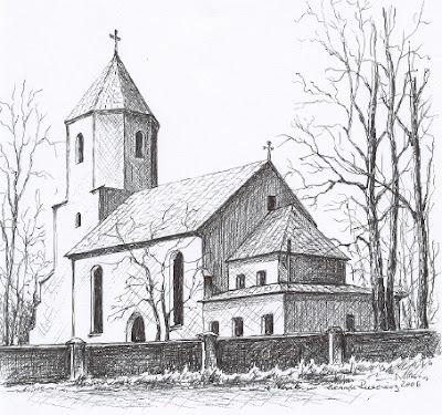 Kościół filialny p.w. św. Antoniego w Oborze
