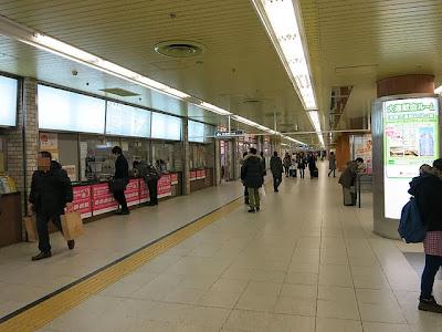 札幌の地下街
