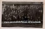 Britse bevrijders in Enschede, lokatie nog onbekend.