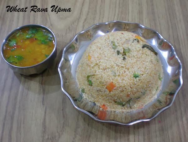 Godhuma Rava Upma (Biriyani style)Recipe