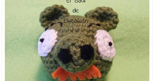 Cerdo Angry Birds Amigurumi : El Ba?l de Elveawen: Otro cerdito