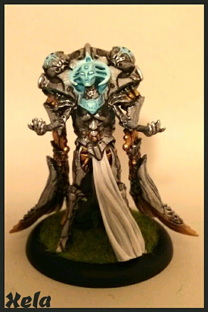 Los Grumpies pintamos: IRON MOTHER Directrix, Warcaster de Convergence of Cyriss.