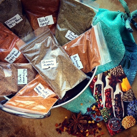 Foodie Parcels In The Post - April 2015 - Review - The Spice Kitchen Spice Blends