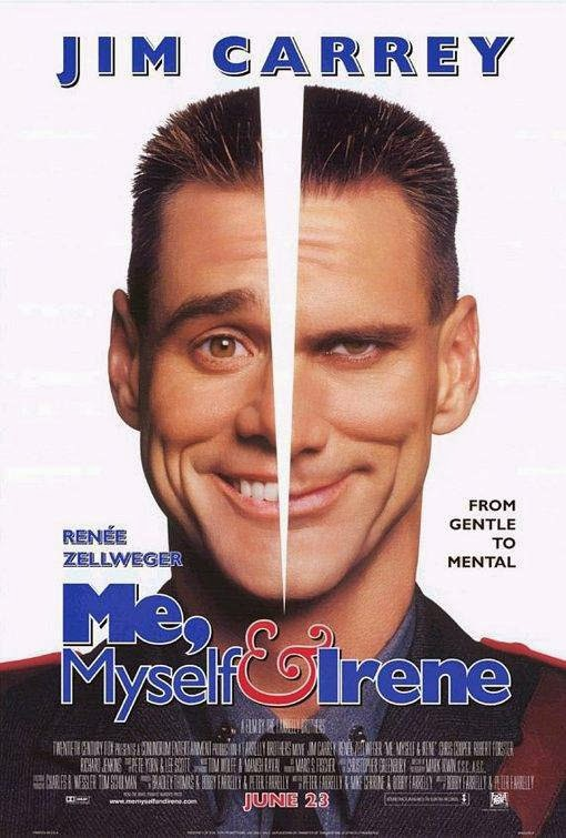Poster Of Me, Myself & Irene (2000) Full Movie Hindi Dubbed Free Download Watch Online At Alldownloads4u.Com