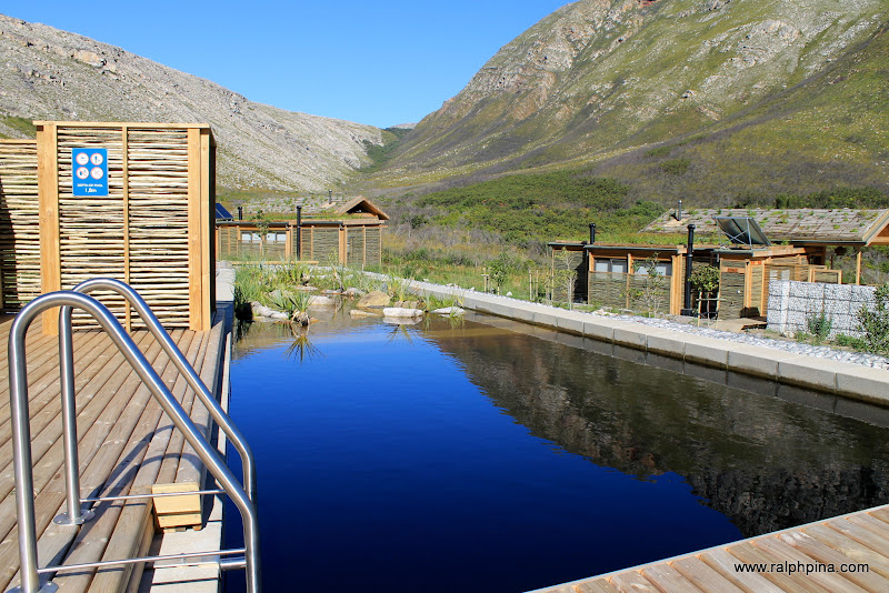 Pool at Oudebosch eco-cabins