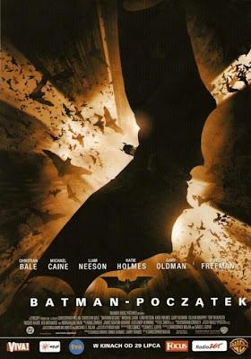 Plakat filmu: Batman - Początek