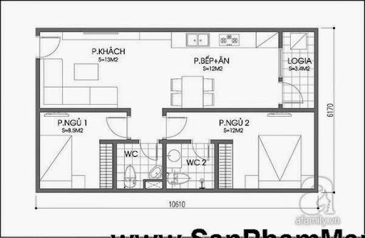 Tư vấn bố trí nội thất chuẩn cho căn hộ tầm trung-2