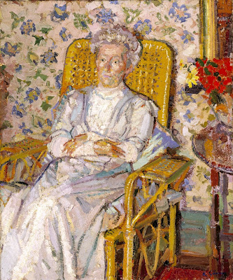 Harold Gilman - The Artist's Mother