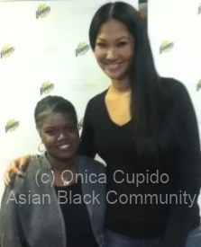onica cupido of asian black co and kimora lee simmons-hounsou